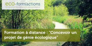 FOAD - Concevoir un projet en faveur de la biodiversité grâce au génie écologique